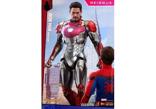 Figurka Spider-Man Homecoming Movie Masterpiece Diecast 1/6 Iron Man Mark XLVII ReissueFigurka Spider-Man Homecoming Movie Masterpiece Diecast 1/6 Iron Man Mark XLVII Reissue