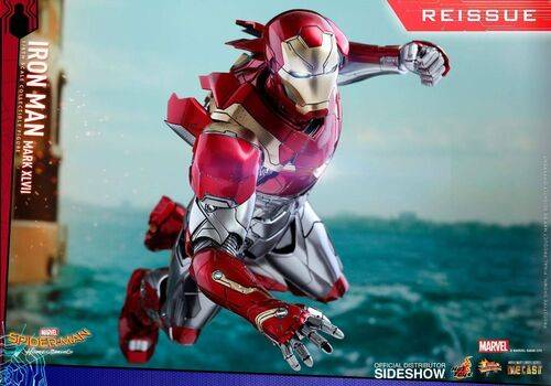 Figurka Spider-Man Homecoming Movie Masterpiece Diecast 1/6 Iron Man Mark XLVII Reissue