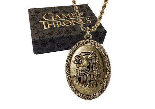 Wisiorek z łańcuszkiem Game of Thrones / Gra o Tron - Cersei Lannister