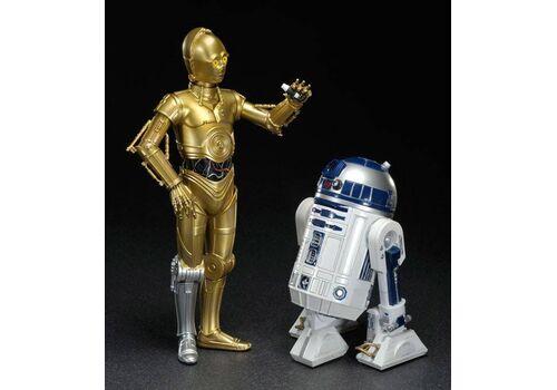 Zestaw figurek Star Wars ARTFX Statue 2-Pack 1/10 C-3PO & R2-D2 17 cm