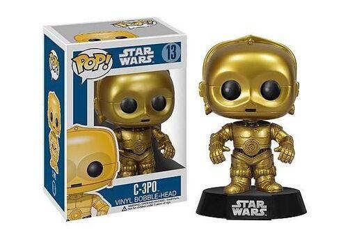 Figurka Star Wars POP! Vinyl Bobble-Head C-3PO 10 cm