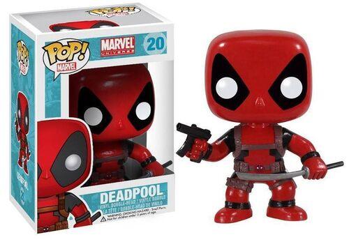 Figurka Marvel Comics POP! Vinyl Bobble-Head Deadpool 10 cm