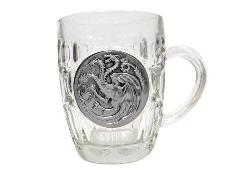 Kufel Gra o Tron / Game of Thrones - Logo Targaryen